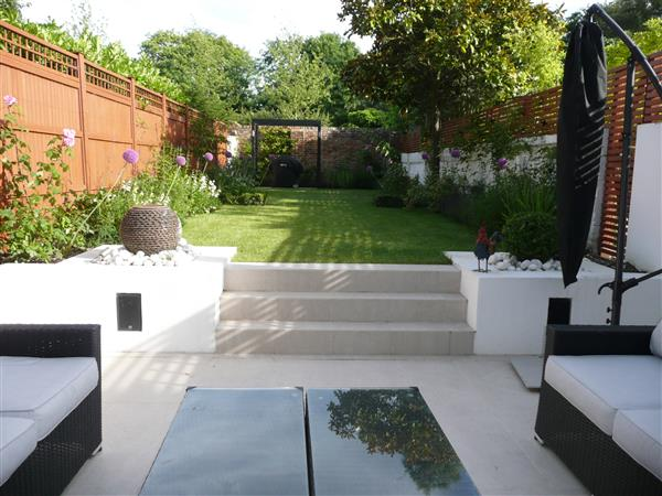 Townhouse Garden in Clapham
